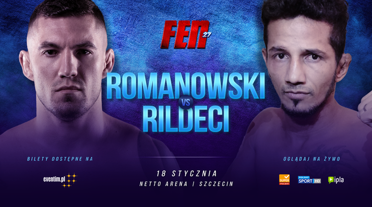 FEN 27: Romanowski poznał nowego rywala
