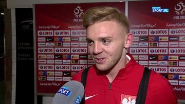 Jóźwiak po debiucie w reprezentacji Polski: Spełniłem swoje marzenie
