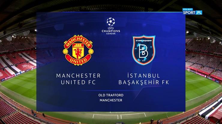 Manchester United – Istanbul Basaksehir 4:1. Skrót meczu - Polsat Sport