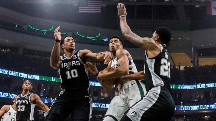 """NBA: """"Kozły"""" zatrzymane w San Antonio"""