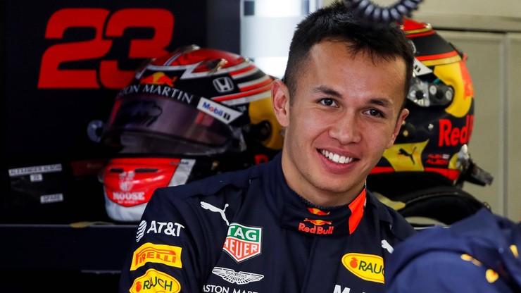 Formuła 1: Albon zostaje w Red Bullu, w Toro Rosso też bez zmian