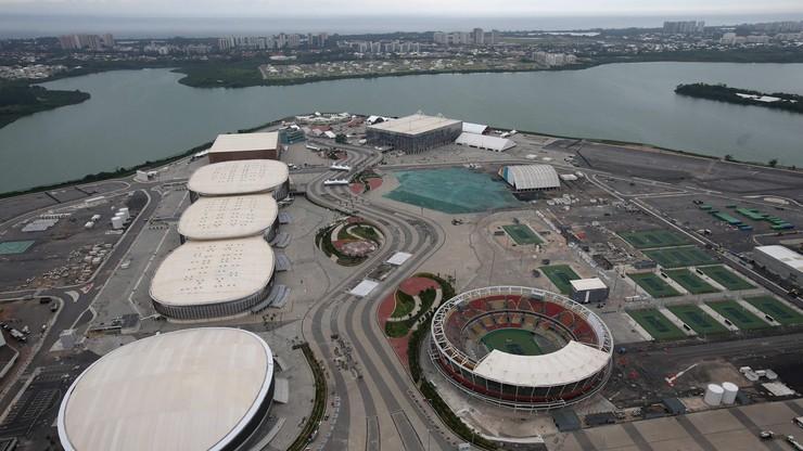 Policja zamknęła olimpijskie obiekty w Rio de Janeiro