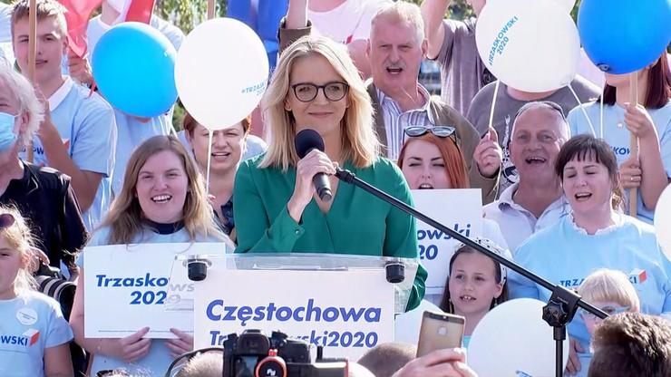 """""""Odważniejsza niż niejeden polityk"""". Małgorzata Trzaskowska wsparła męża"""