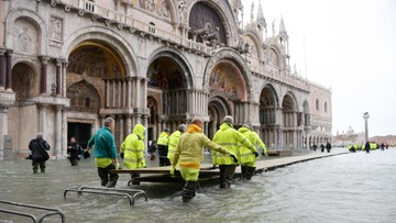 70 proc. historycznego centrum pod wodą. Zalana Wenecja może zamienić się w pustynię demograficzną