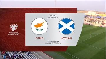 Cypr - Szkocja 1:2. Skrót meczu