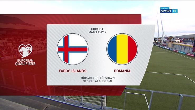 Wyspy Owcze - Rumunia 0:3. Skrót meczu