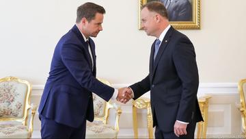 """Spotkanie Duda-Trzaskowski. """"To nie wizyta kurtuazyjna"""""""