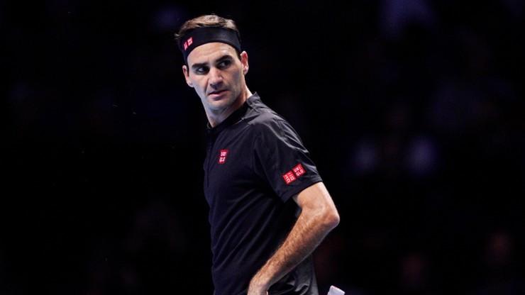 ATP Finals: Tsitsipas - Federer. Relacja i wynik na żywo