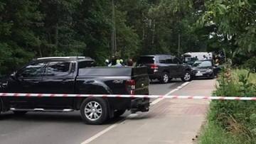 Wypadek podczas akcji CBŚP w Warszawie