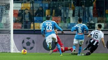 Serie A: Niemoc Napoli trwa. Gol Zielińskiego