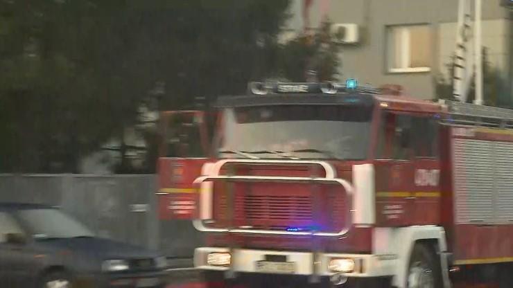 Wybuch gazu w Bachowicach k. Wadowic. Poszkodowane dwie osoby
