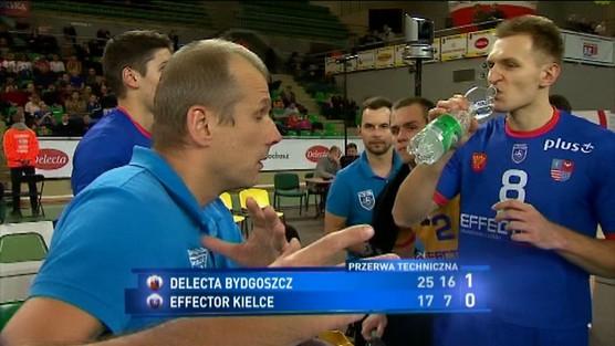 Delecta Bydgoszcz - Effector Kielce, PlusLiga