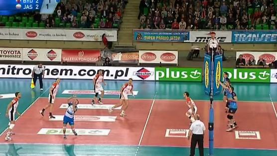 Delecta Bydgoszcz - Jastrzębski Węgiel skrót set 5, PlusLiga
