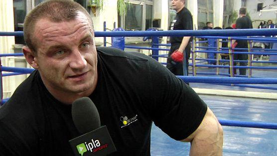 Trening bokserski Pudziana przed walką z Najmanem