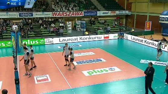 AZS Politechnika Warszawska - Fart Kielce set 2, PlusLiga
