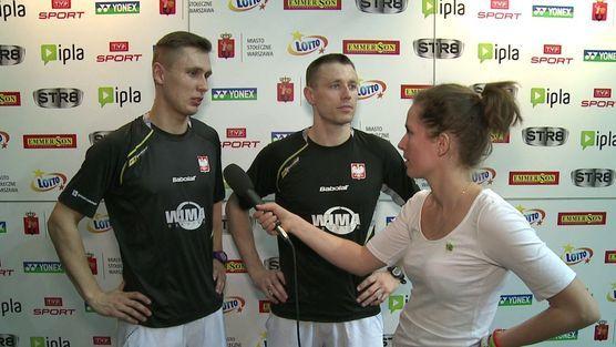 Polish Open 2014 by Yonex - wywiad z Adamem Cwaliną i Przemysławem Wachą