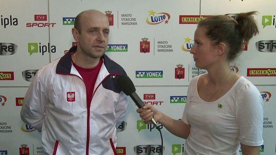 Polish Open 2014 by Yonex - wywiad z trenerem Jackiem Hankiewiczem