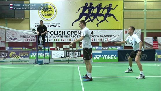 Adam Cwalina / Przemysław Wacha (POL) - Nikita Khakimov / Vasily Kuznetsov (RUS)