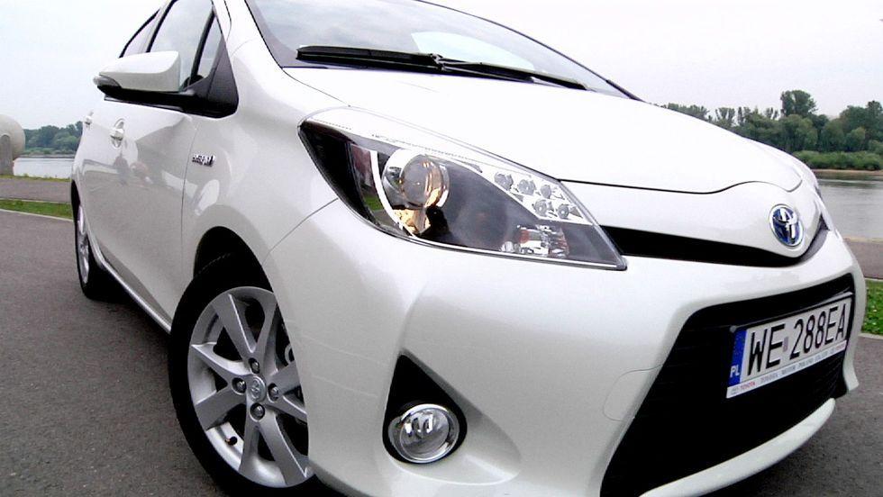 Toyota Yaris Hybrid - dieslom wbrew
