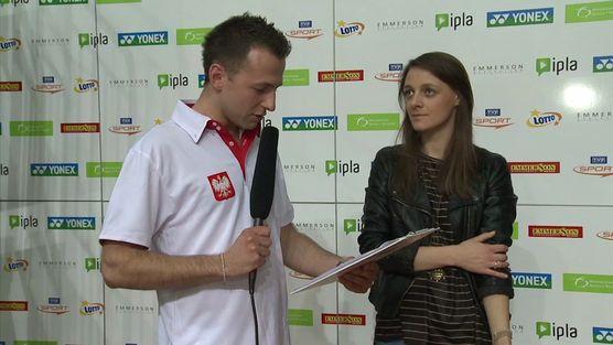 Yonex Polish Open 2013 - wywiad z Moniką Mosakowską
