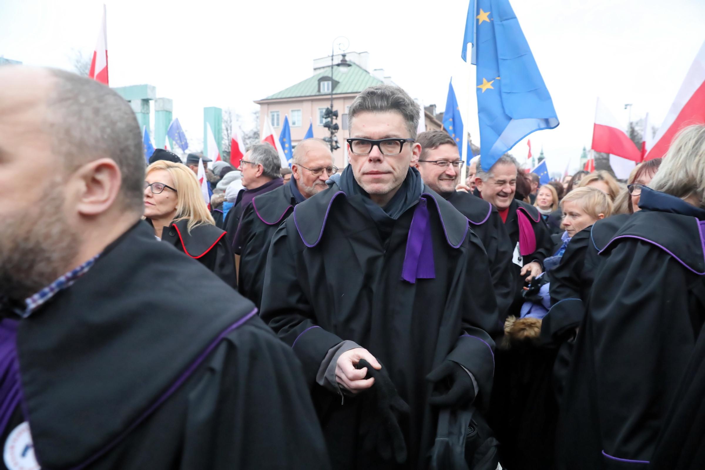 Tuleya: są z nami sędziowie z całej Europy, prawnicy ze świata