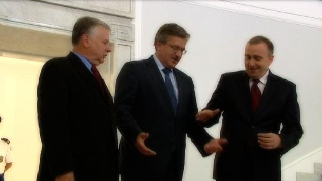 Trzech polityków w roli głowy państwa, lipiec 2010