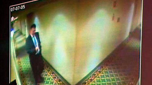 Nagrania z kamer Hotelu Mariott