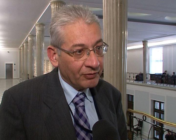 Ludwik Dorn skarży się na zamrażarkę marszałka Sejmu