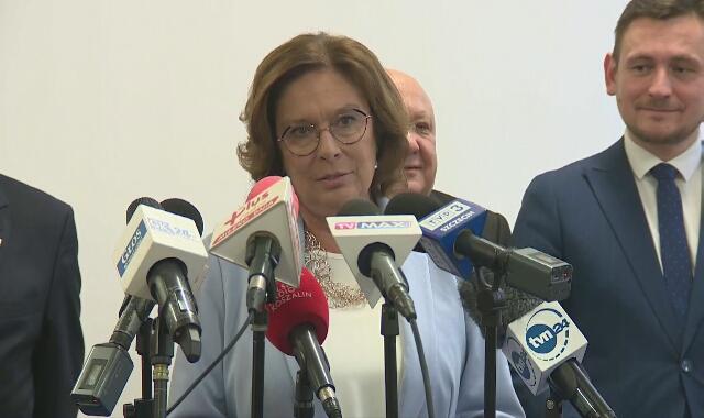 Małgorzata Kidawa-Błońska mówiła w Koszalinie m.in. o sytuacji pielęgniarek