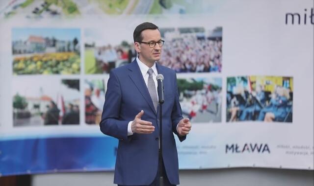 Premier Mateusz Morawiecki w Mławie o polskiej żywności