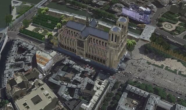 Tak wyglądała Notre Dame przed pożarem
