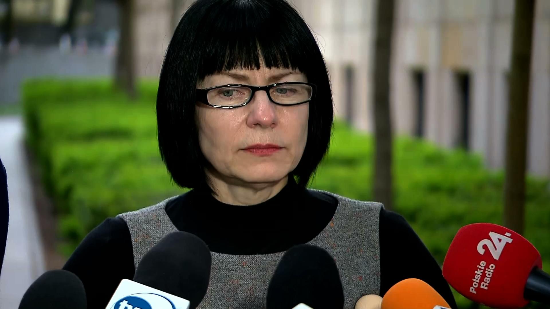 Sprowadzone do Polski działaczki z Białorusi zabrały głos