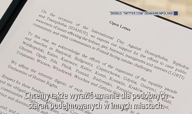 """List otwarty ambasadorów. """"Prawa człowieka są uniwersalne"""""""
