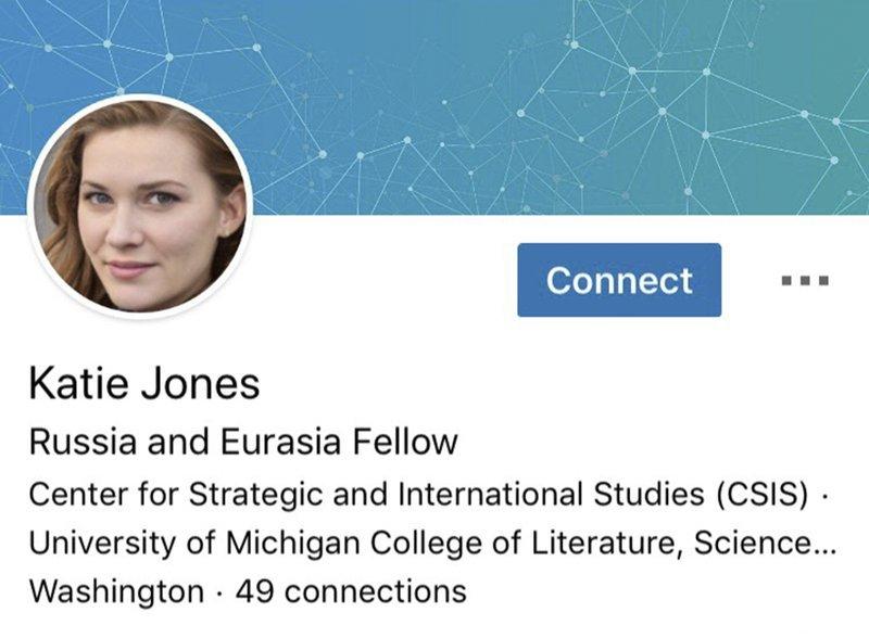 Fałszywy profil z komputerowo wygenerowaną twarzą
