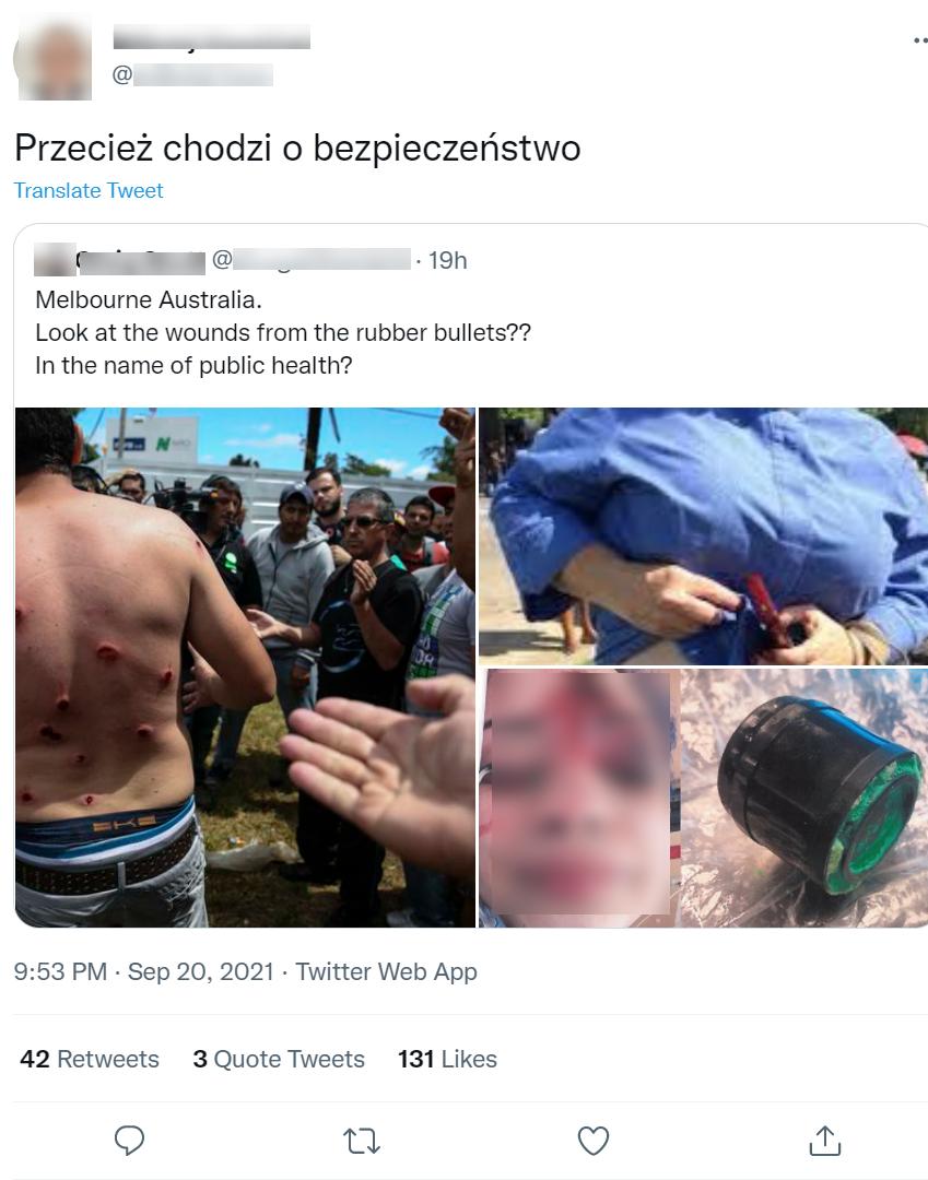 Oburzeni internauci są przekonani, że zdjęcia są aktualne i zostały zrobione w Australii
