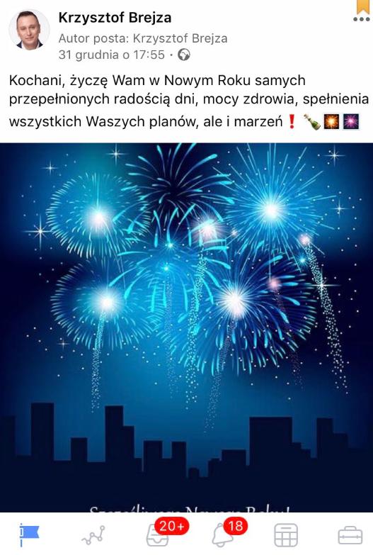 Zrzut ekranu udostępniony redakcji Konkret24 przez senatora Krzysztofa Brejzę