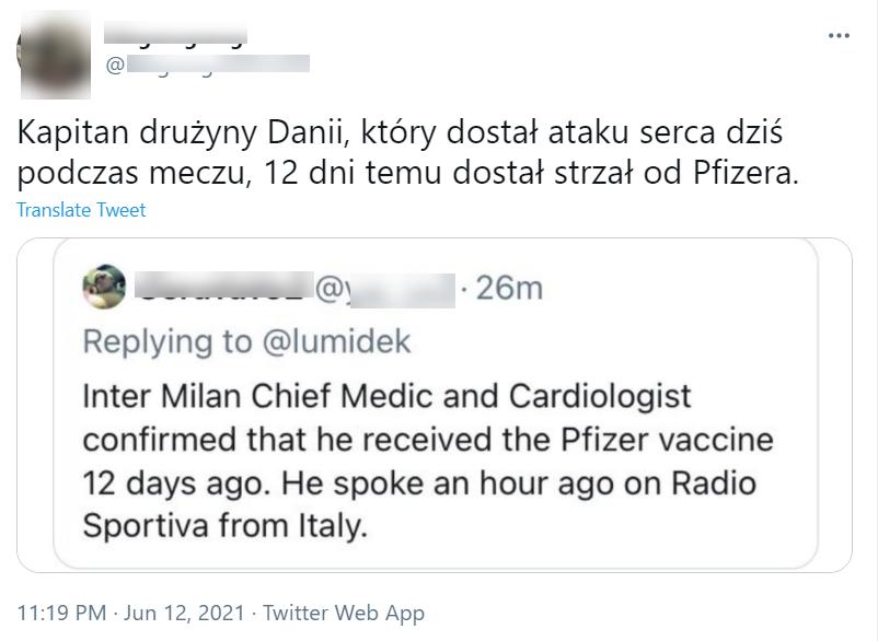Sprawę komentowali również polskojęzyczni internauci