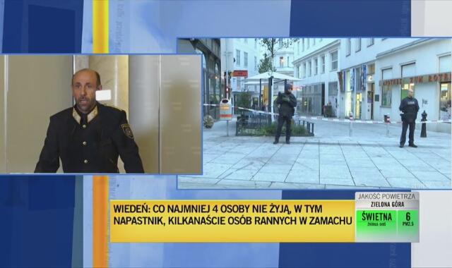 Franz Ruf o zamachu terrorystycznym w Wiedniu