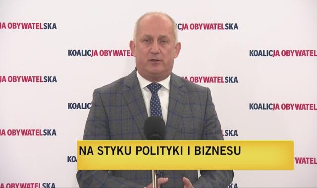 Poseł KO Sławomir Neumann o sprawie zakupu maseczek