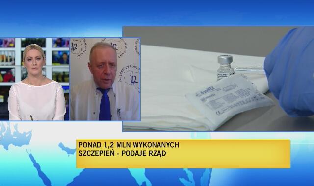 Sutkowski: Minął miesiąc i zaszczepiliśmy nieco ponad milion. To nie jest tempo oszałamiające. Europa słabo sobie radzi