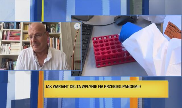 Profesor Tyll Krueger o wariancie Delta koronawirusa