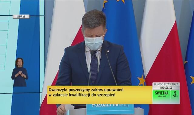 Michał Dworczyk o marnowaniu szczepionek w Polsce