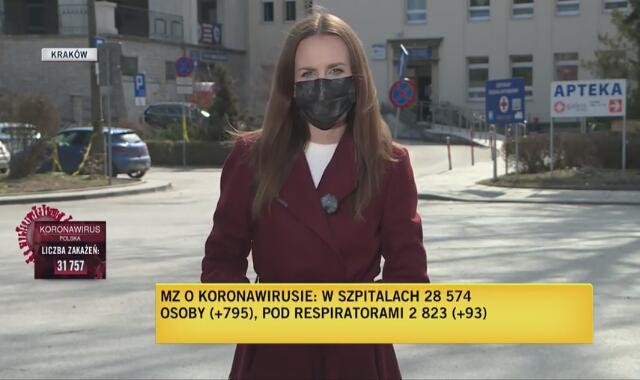 Coraz więcej zakażeń w Małopolsce. Relacja reporterska z 27 marca