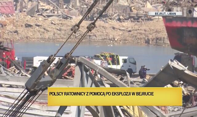 """Polacy pierwsi na miejscu z ekip zagranicznych. """"Jest szansa na uratowanie żywych osób"""""""