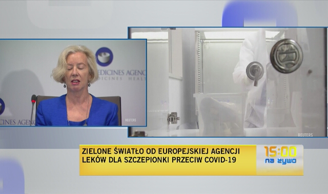 Europejska Agencja Leków: nasze wnioski są takie, że szczepionka spełnia rygorystyczne standardy Unii Europejskiej