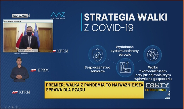 Premier o walce z koronawirusem