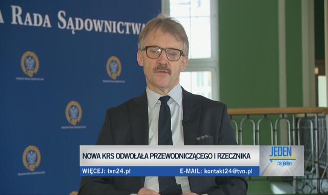 Sędzia Leszek Mazur o powodach swojego odwołania