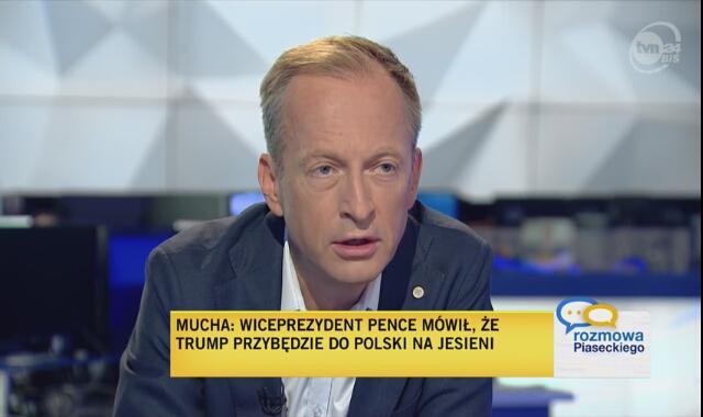 Paweł Mucha z Kancelarii Prezydenta RP wyjaśnia odrzucenie podatku cyfrowego