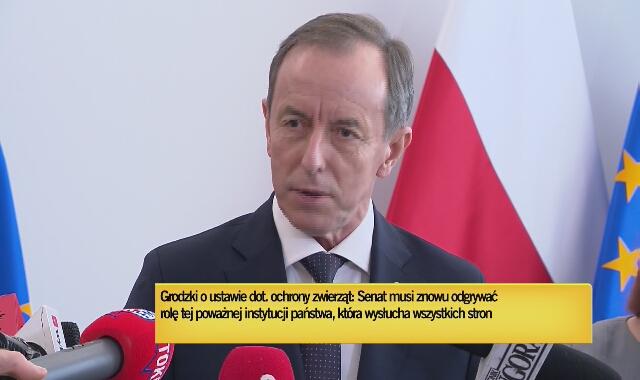 """Marszałek Grodzki: """"W ustawie o ochronie zwierząt jest kogel-mogel"""""""