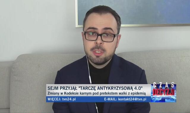 Dr Mikołaj Małecki o zmianach w prawie karnym